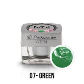 3D Plasticine Gel - 07 - Green - 3,5g