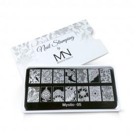 Nail stamping plate - 06.