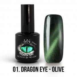 ColorMe! Dragon Eye Effect 01 - Olive 12ml Gel Polish