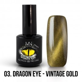 ColorMe! Dragon Eye Effect 03 - Vintage Gold 12ml Gel Polish