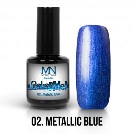 ColorMe! Metallic no.02. - Metallic Blue 12ml