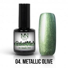 ColorMe! Metallic no.04. - Metallic Olive 12ml