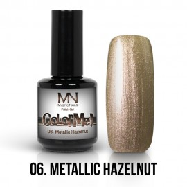 ColorMe! Metallic no.06. - Metallic Hazelnut 12ml