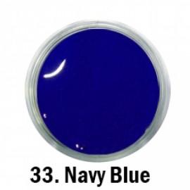 Acril Paint - no.33. - Navy Blue