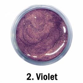 Acril Paint - no.02. - Violet