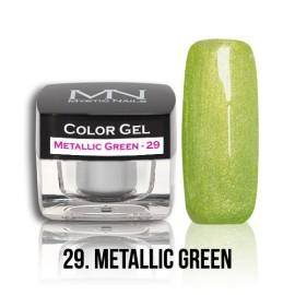 Color Gel - no.29. - Metallic Green