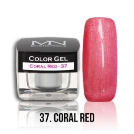 Color Gel - no.37. - Coral Red