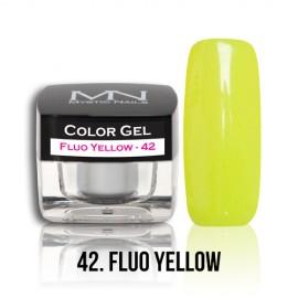 Color Gel - no.42. - Fluo Yellow