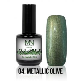 ColorMe! Metallic no.04. - Metallic Olive 8 ml
