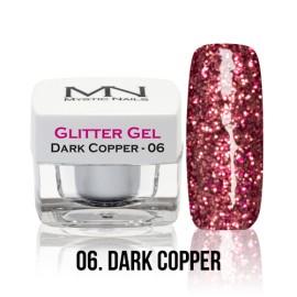 Glitter Gel - no.06. - Dark Copper - 4g