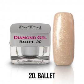 Diamond Gel - no.20. - Ballet - 4g
