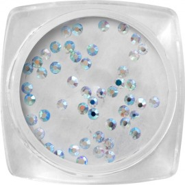Crystal stones - Holographic Silver SS4 - 50 pcs / jar
