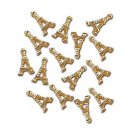 Nail Jewellery - Eiffel Tower - Gold