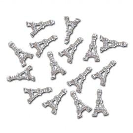 Nail Jewellery - Eiffel Tower - Silver