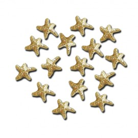 Nail Jewellery - Starfish - Gold