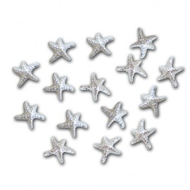 Nail Jewellery - Starfish - Silver