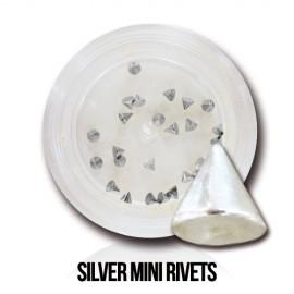 Silver Mini Rivets