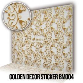 Golden Decor Sticker BM004