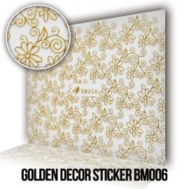 Golden Decor Sticker BM006