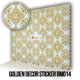 Golden Decor Sticker BM014
