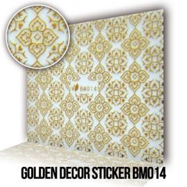 Golden Decor Sticker BM014