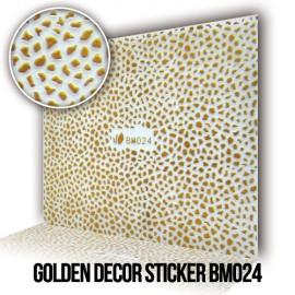 Golden Decor Sticker BM024