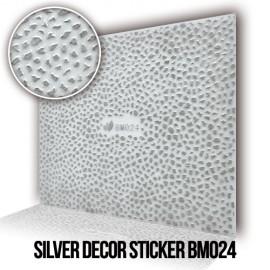 Silver Decor Sticker BM024