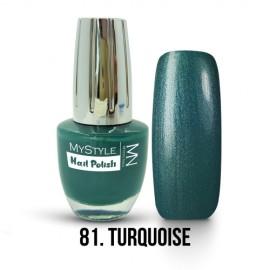 MyStyle - no.81. - Turquoise - 15ml