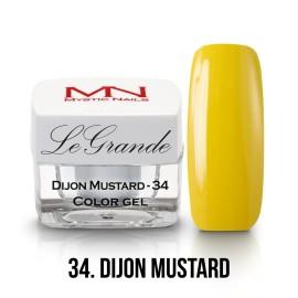 LeGrande Color Gel - no.34 -  Dijon Mustard - 4 g