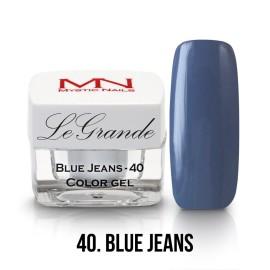 LeGrande Color Gel - no.40. - Blue Jeans - 4 g