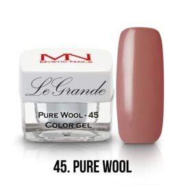 LeGrande Color Gel - no.45.- Pure Wool - 4 g
