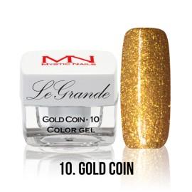 LeGrande Color Gel - no.10. - Gold Coin - 4 g