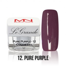LeGrande Color Gel - no.12. - Pure Purple - 4 g