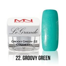 LeGrande Color Gel - no.22. - Groovy Green - 4 g