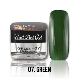 UV Painting Nail Art Gel - 07 - Green
