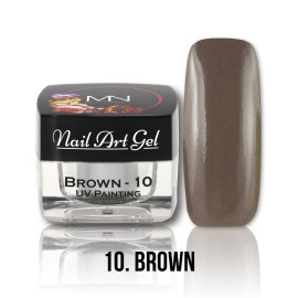 UV Painting Nail Art Gel - 10 - Brown