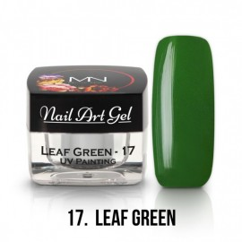UV Painting Nail Art Gel - 17 - Leaf Green - 4g