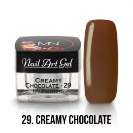 UV Painting Nail Art Gel - 29 - Chocolate - 4g