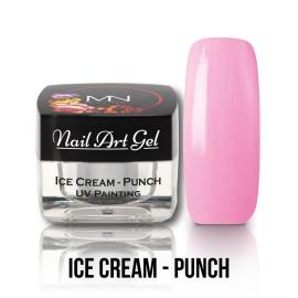 UV Painting Nail Art Gel - Ice Cream - Punch