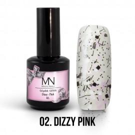 Gel Polish Dizzy no.02. - Dizzy Pink 12ml