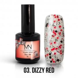 Gel Polish Dizzy no.03. - Dizzy Red 12ml