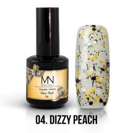 Gel Polish Dizzy no.04. - Dizzy Peach 12ml