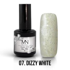 Gel Polish Dizzy no.07. - Dizzy White 12ml