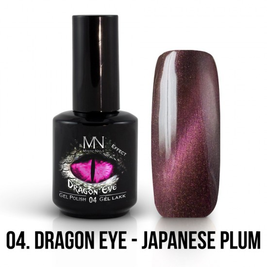 ColorMe! Dragon Eye Effect 04 - Japanese Plum 12ml Gel Polish