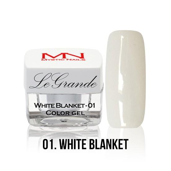 LeGrande Color Gel - no.01. - White Blanket - 4 g